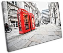 London Phonebox Red City - 13-0311(00B)-SG32-LO